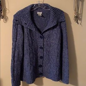 L. L. Bean cardigan, excellent condition, size L